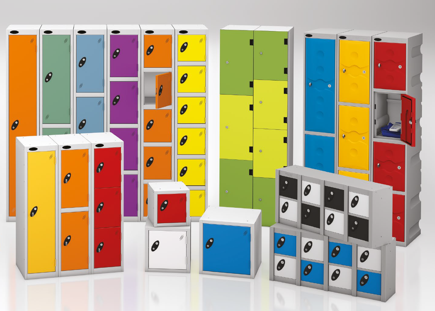 Taquillas POLYPAL | POLYPAL STORAGE SYSTEMS