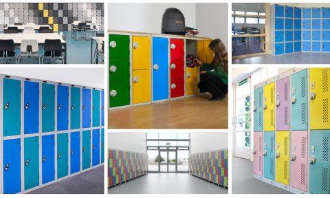 Composición de taquillas | POLYPAL STORAGE SYSTEMS escolares