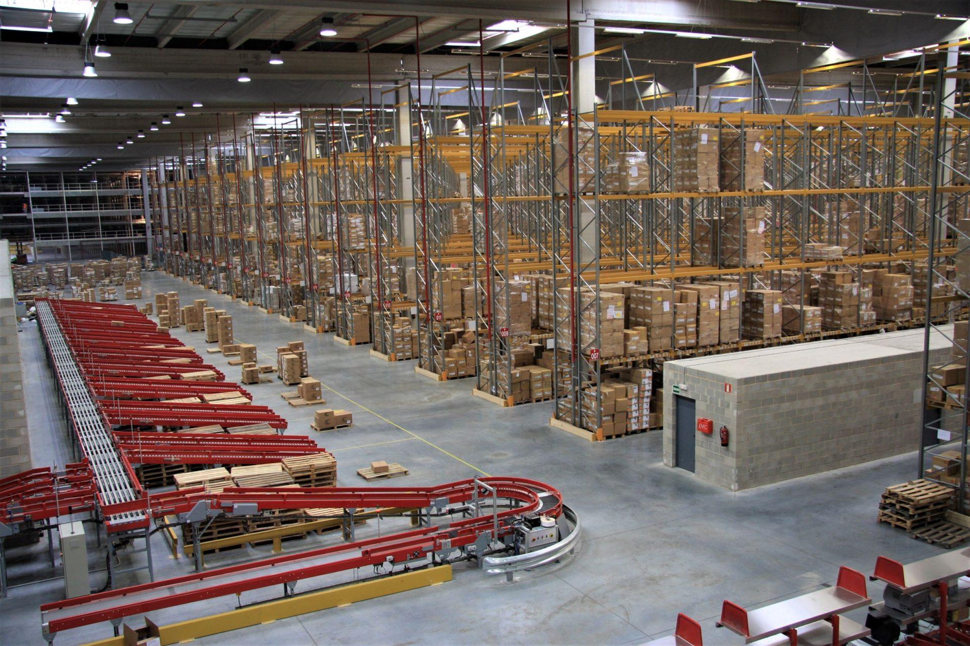 Almacén Tendam Aranjuez   POLYPAL Storage Systems