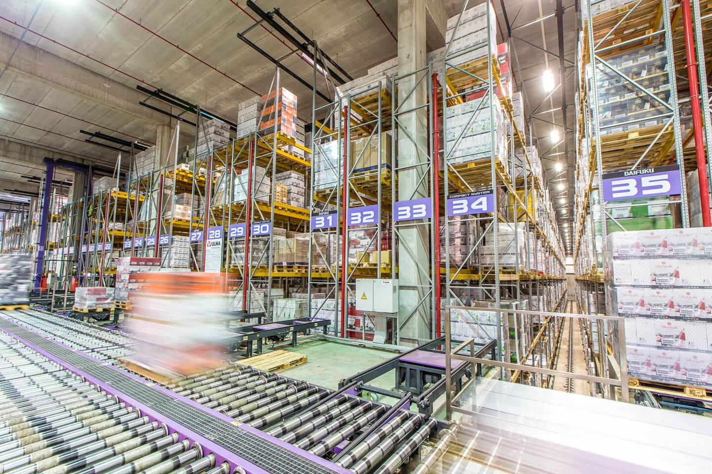 Almacén automático estanterías | POLYPAL STORAGE SYSTEMS