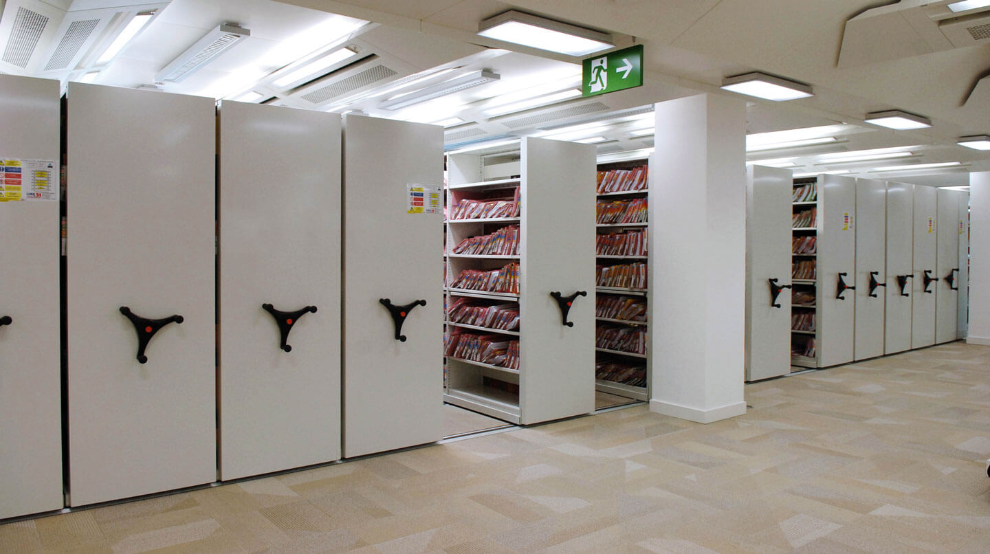Mobile shelving library| POLYPAL STORAGE SYSTEMS