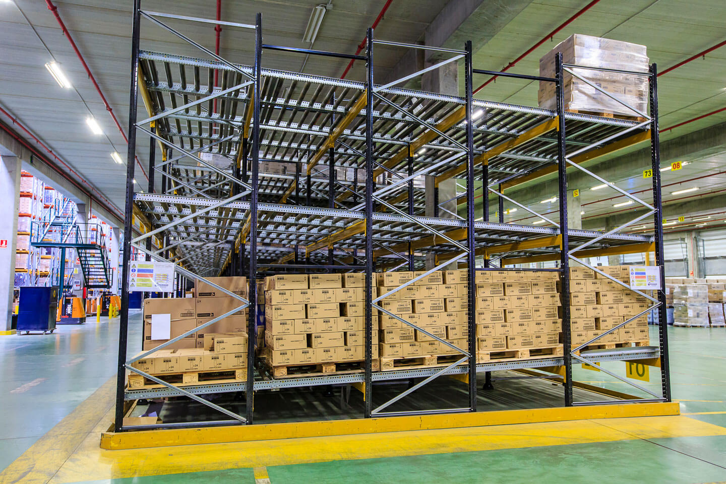 Pallet live with load | POLYPAL STORAGE SYSTEMS
