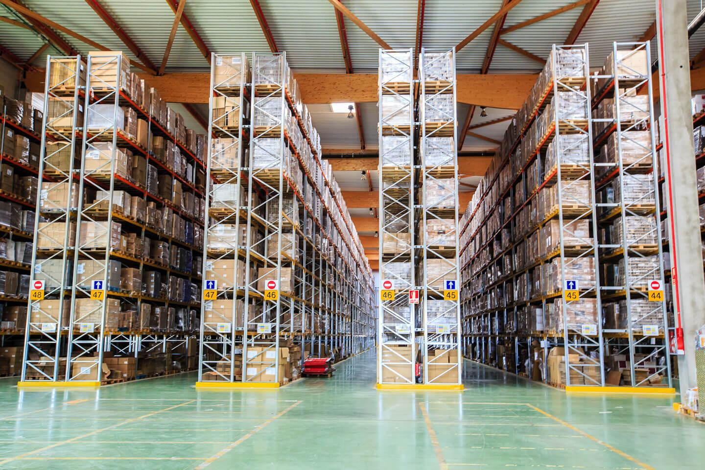 Paletización convencional estantería aluminio 1 | POLYPAL STORAGE SYSTEMS