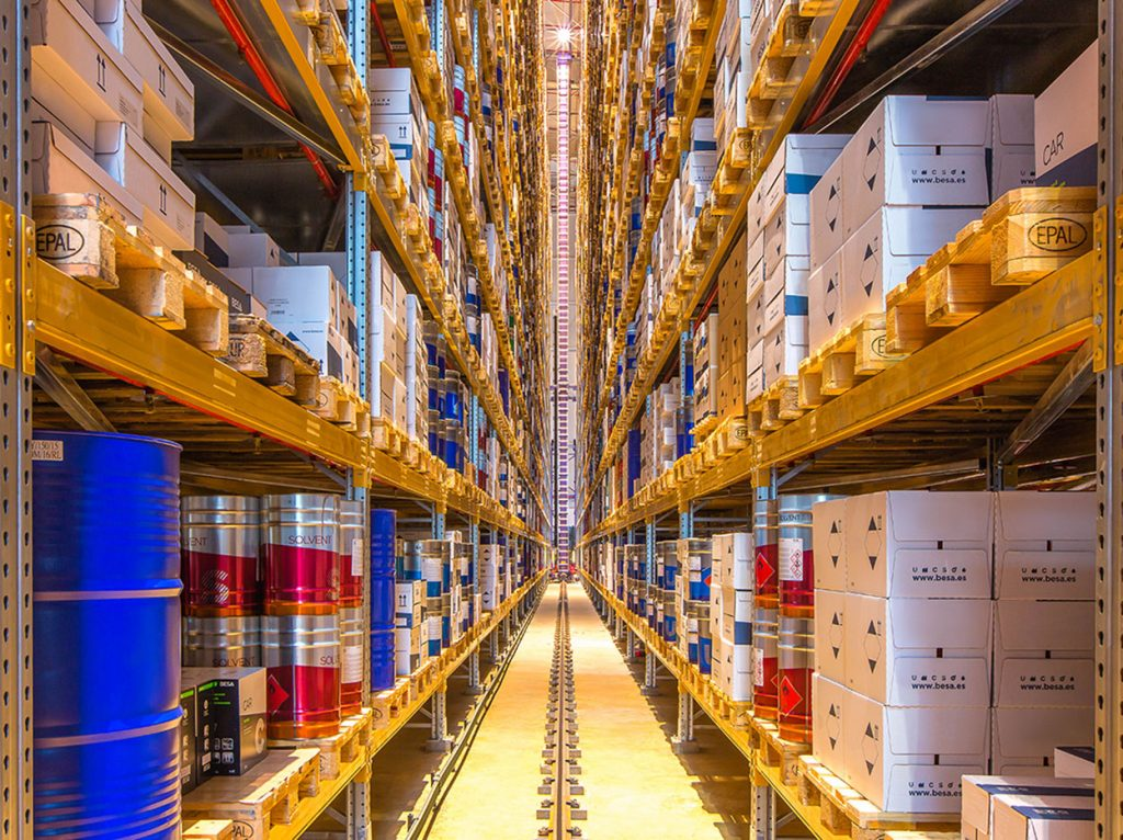 Automated warehouses | POLYPAL STORAGE SYSTEMS