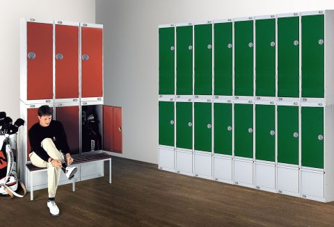 Taquillas club Golf | POLYPAL STORAGE SYSTEMS