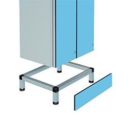 Base de support de casier | POLYPAL STORAGE SYSTEMS