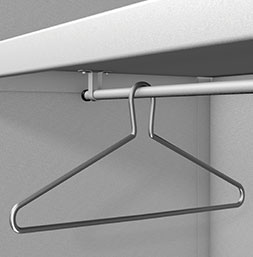 Captive coat hanger | POLYPAL STORAGE SYSTEMS