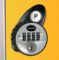 Four Tumbler Combination Lock | POLYPAL STORAGE SYSTEMS