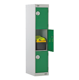 Three-quarter height 3 door | POLYPAL STORAGE SYSTEMS