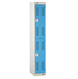 Perforated door | POLYPAL STORAGE SYSTEMS