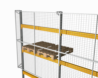 Load fall prevention mesh | POLYPAL STORAGE SYSTEMS