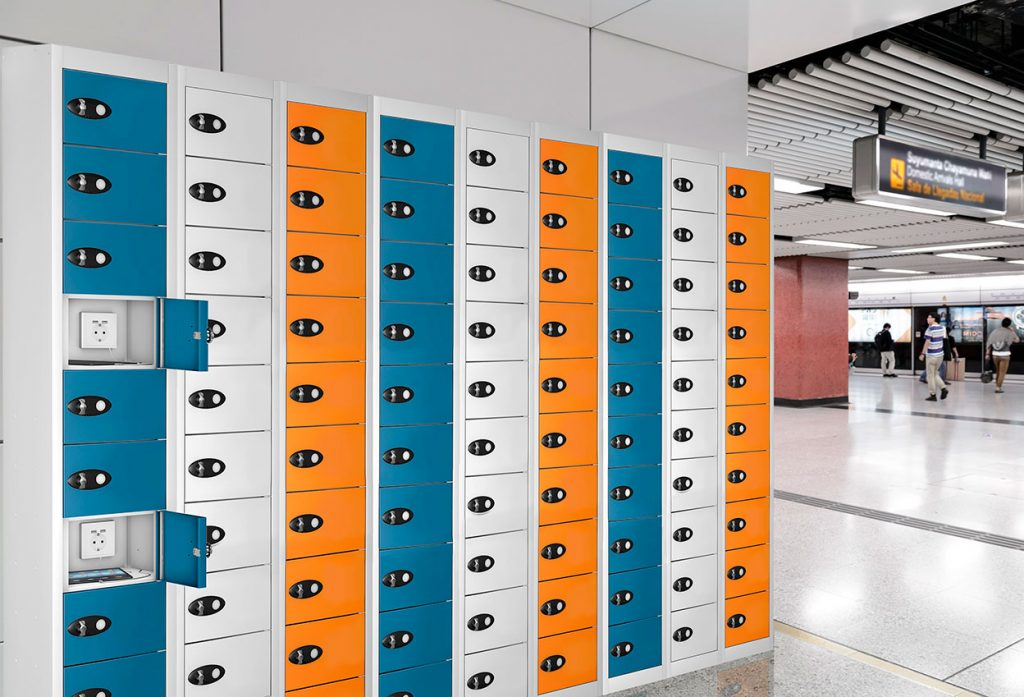 Charging lockers | POLYPAL STORAGE SYSTEMS