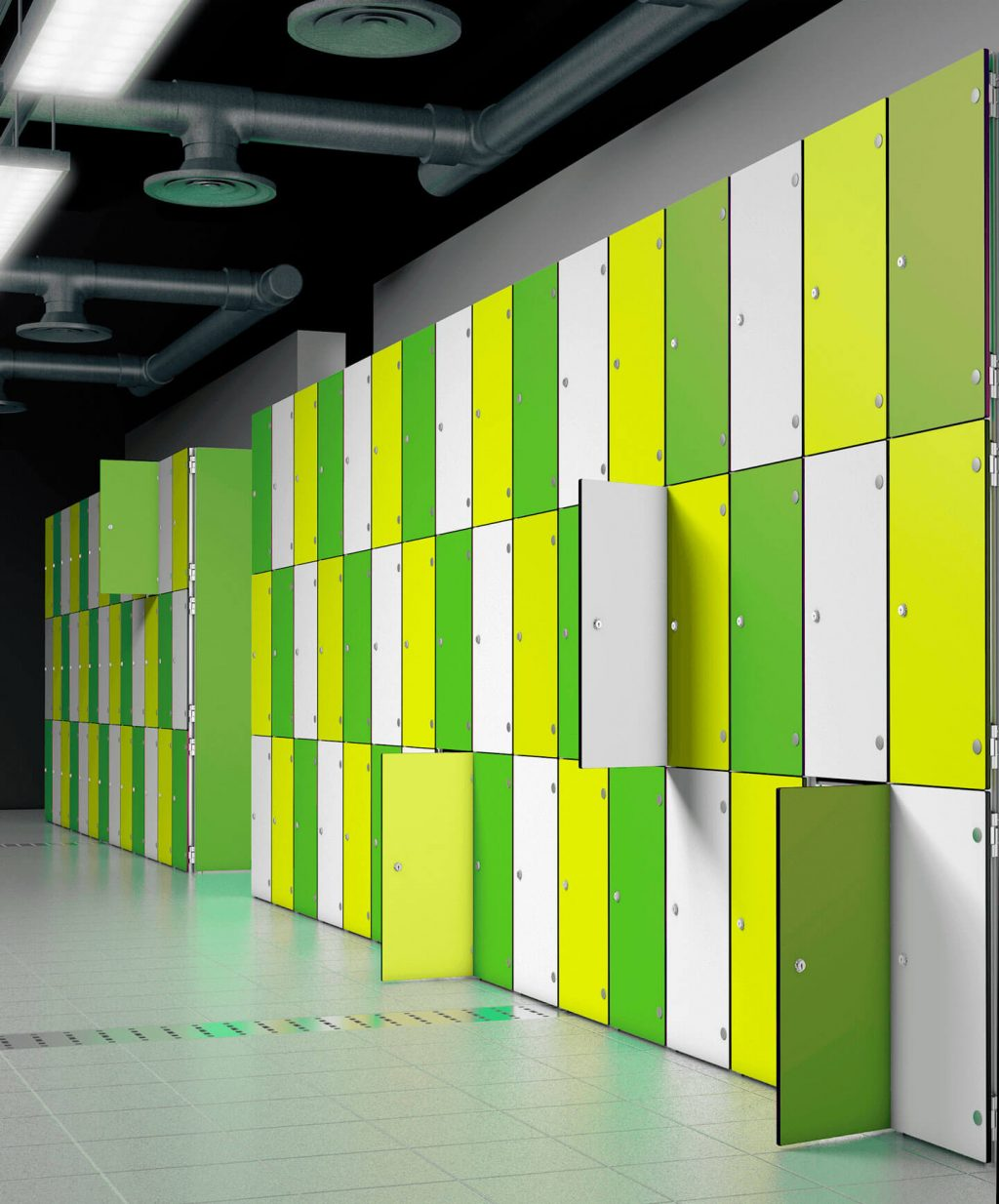 Lockers de aluminio | POLYPAL STORAGE SYSTEMS
