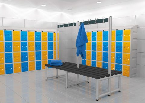 Plastic lockers | POLYPAL STORAGE SYSTEMS
