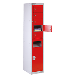 Collector and dispenser 5 door | POLYPAL STORAGE SYSTEMS