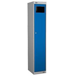 Kombinierter Schrank mit Sammelfach Blau Farbe | POLYPAL STORAGE SYSTEMS