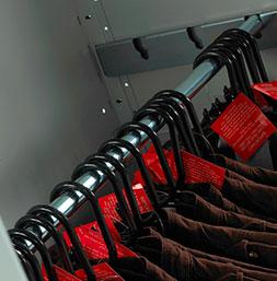 Hanging garment rail | POLYPAL STORAGE SYSTEMS