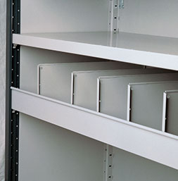 Vertical bin fronts | POLYPAL STORAGE SYSTEMS