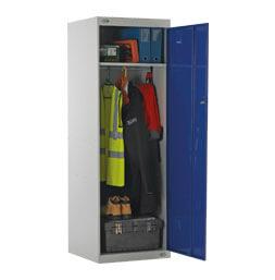 Schränke für Einsatzkleidung und Ausrüstung 2 Fächern | POLYPAL STORAGE SYSTEMS