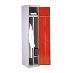 Lockers voor werkkleding met extra lade | POLYPAL STORAGE SYSTEMS