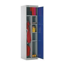 Taquilla de seguridad con puerta semiperforada | POLYPAL STORAGE SYSTEMS