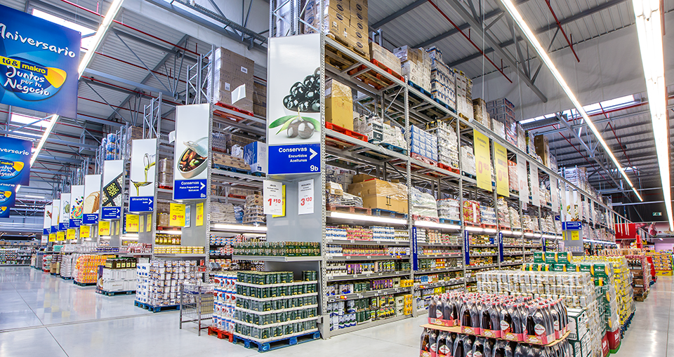 Centro Makro Barajas | POLYPAL STORAGE SYSTEMS